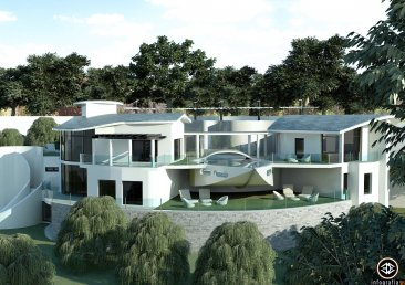 Недвижимость в Испании: Ультрасовременная вилла с видом на озеро - Истан - Пуэрто Банус