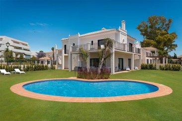 Недвижимость в Испании: Готовые новые таунхаусы в Guadalmina baja